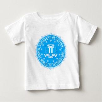 FBI Seal In Blue Baby T-Shirt