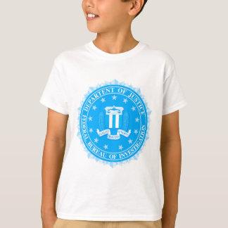 FBI Seal In Blue T-Shirt
