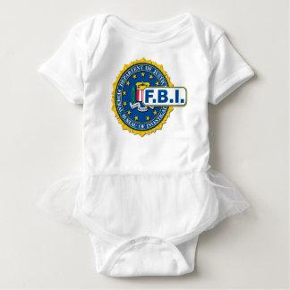 FBI Seal Mockup Baby Bodysuit