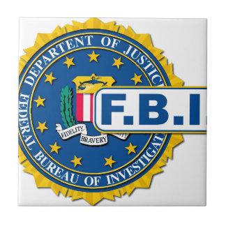 FBI Seal Mockup Ceramic Tile