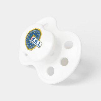 FBI Seal Mockup Pacifier