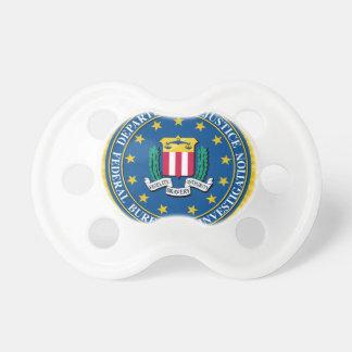 FBI Seal Pacifier