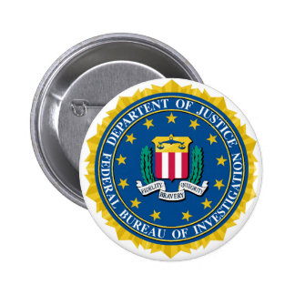 FBI Seal Pinback Button
