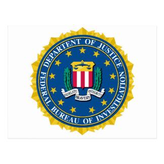 FBI Seal Postcard