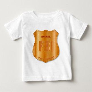 FBI Spoof Shield Badge Baby T-Shirt
