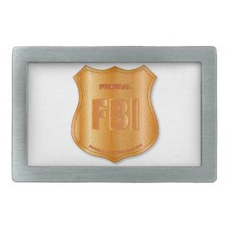 FBI Spoof Shield Badge Belt Buckle