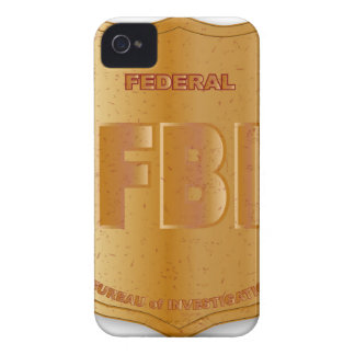 FBI Spoof Shield Badge iPhone 4 Cover