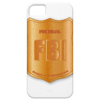 FBI Spoof Shield Badge iPhone SE/5/5s Case