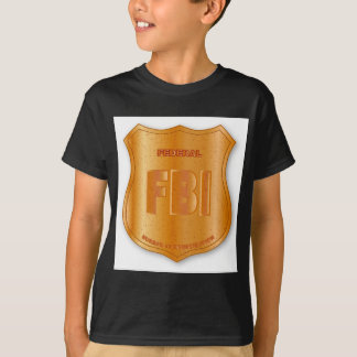 FBI Spoof Shield Badge T-Shirt