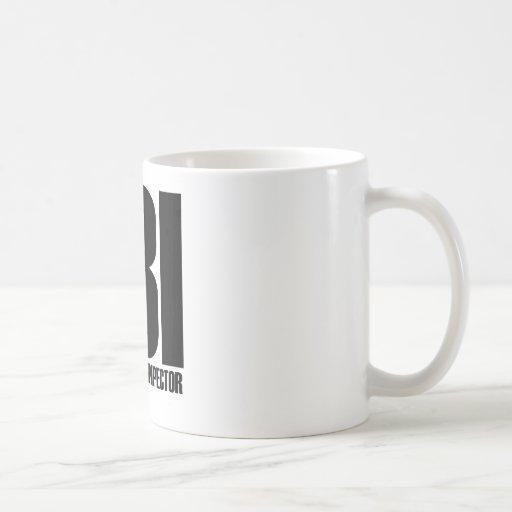 FBI TAZA DE CAFÉ