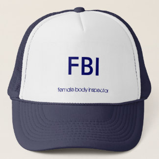 FBI TRUCKER HAT