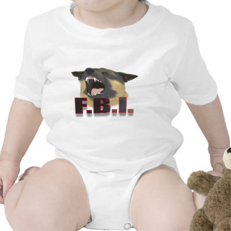 FBI BABY BODYSUITS