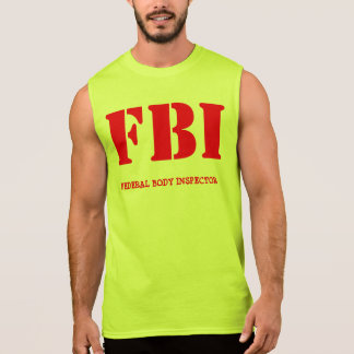 FBI SLEEVELESS T-SHIRTS
