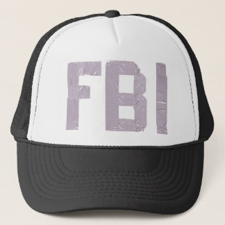 FBI with duct tape Trucker Hat