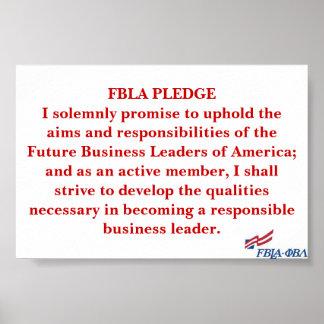 FBLA Pledge Posters