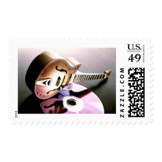 FBP Guitar/CD Postage Stamp Postage