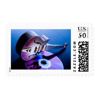 FBP Guitar/CD Postage Stamp