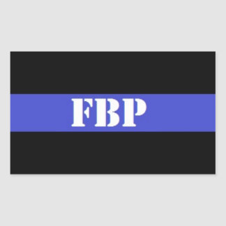 FBP Thin Blue Line Law Enforcement Sticker