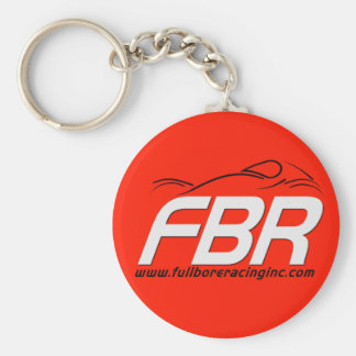 FBR Red Racing Keychain