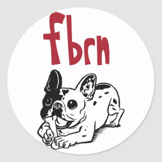 FBRN Logo Classic Round Sticker