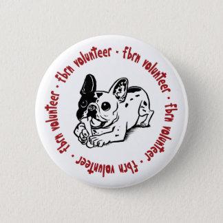 FBRN Volunteer Logo Pinback Button
