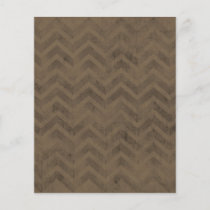 FBZZB FADED CHOCOLATE BROWN ZIG ZAGS ZIGZAG PATTER