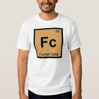Fc - Funnel Cake Chemistry Periodic Table Symbol Tees