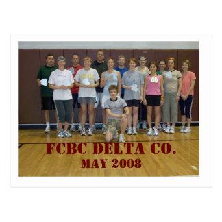 FCBC DELTA CO., may 2008 Postcard