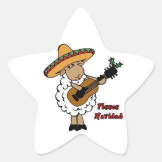 Fce Navidad Pegatina En Forma De Estrella