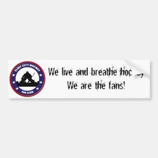 FCHFC Live & Breathe Bumper Sticker