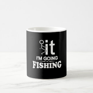 FCK IT IM GOING FISHING COFFEE MUG