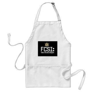 FCSI:  Fashion Crime Scene Investigation Aprons