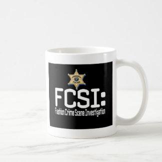 FCSI:  Fashion Crime Scene Investigation Coffee Mug