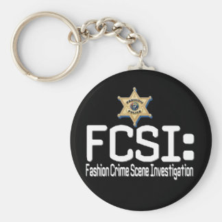 FCSI:  Fashion Crime Scene Investigation Keychain
