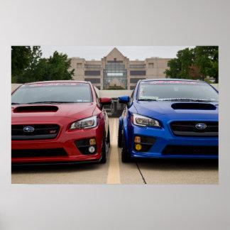 FCTC watermark-free poster - 2015 Subaru STIs