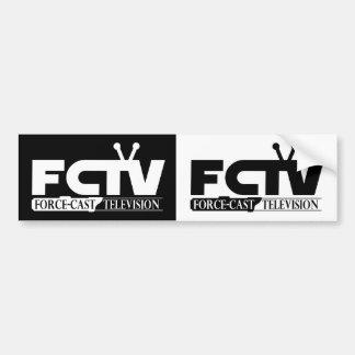 FCTV 2-4-1 CAR BUMPER STICKER