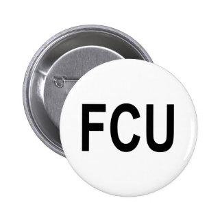FCU Fact Checkers Unit 2 Inch Round Button