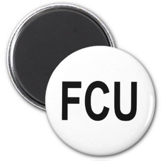 FCU Fact Checkers Unit Magnet