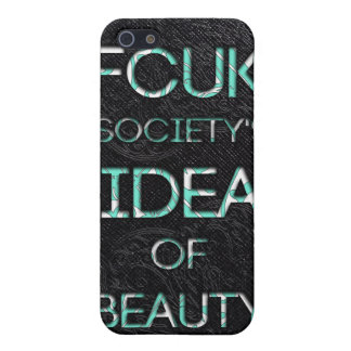 FCUK society iPhone SE/5/5s Cover