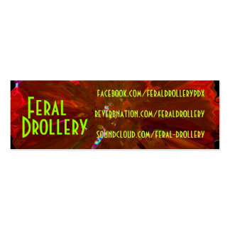 FD biz cards 2012 Double-Sided Mini Business Cards (Pack Of 20)