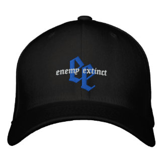FD enemy extinct embroidered hat