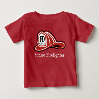 FD Helmet Future Firefighter Baby T-Shirt