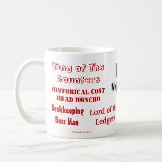 FD Nicknames! Rude Finance Director Mug mug