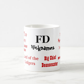 FD Nicknames! Rude Finance Director Mug