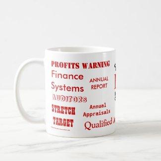 FD Swear Words! - Finance Director Insults Mug mug