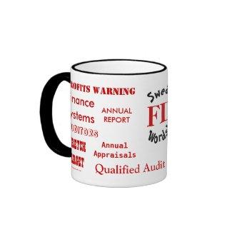 FD Swear Words! - Rude Finance Director Mug mug