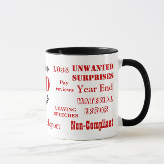 FD Swear Words! - Rude Finance Director Mug