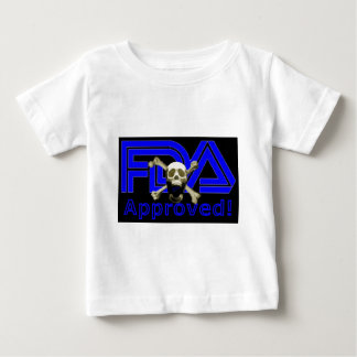 FDA Approved (Black) Baby T-Shirt