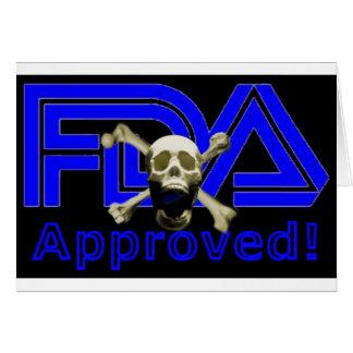 FDA Approved (Black) Card