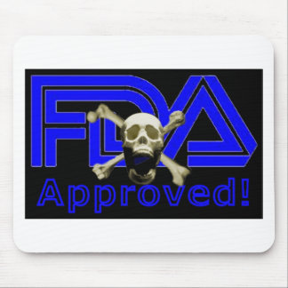 FDA Approved (Black) Mouse Pad